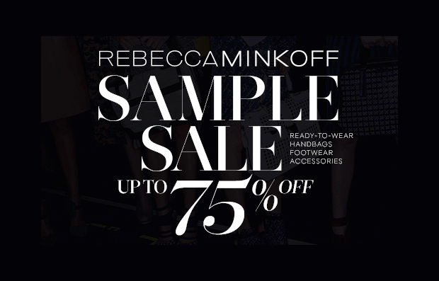 rebecca minkoff sample sale fall 2013