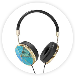 Frends with Benefits Taylor x Rebecca Minkoff headphones