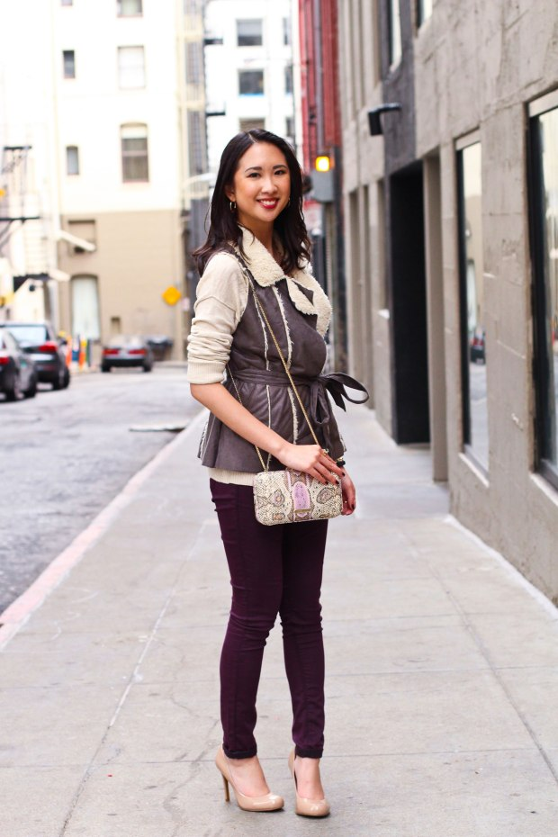 21_08_shearling_vest_topshop_skinny_nude_pumps_rebecca_minkoff_anthropolgie_winter_neutrals