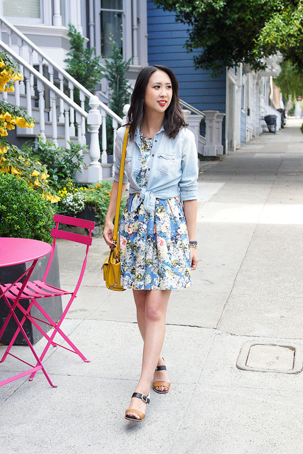 58_01_jyjz_floral_dress_chambray_shirt_nicole_bonny_sandals