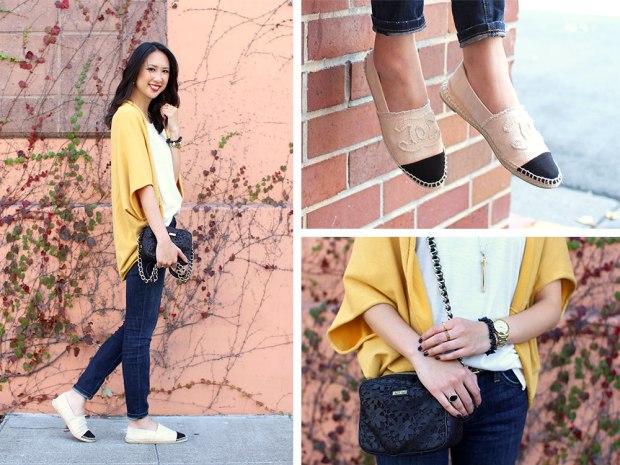 61_00_jyjz_yellow_slouchy_sweater_current_elliot_stilleto_chanel_espadrilles