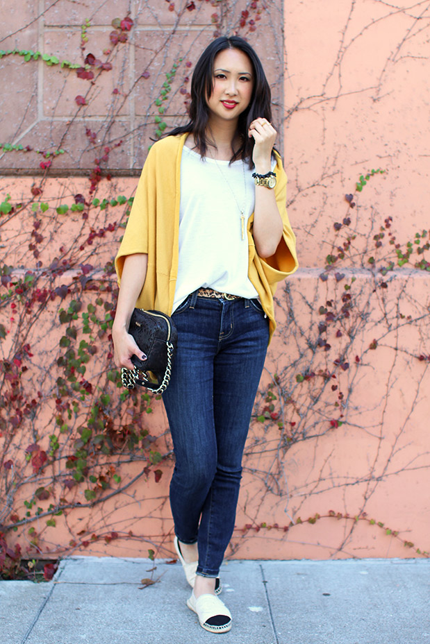 61_01_jyjz_yellow_slouchy_sweater_current_elliot_stilleto_chanel_espadrilles
