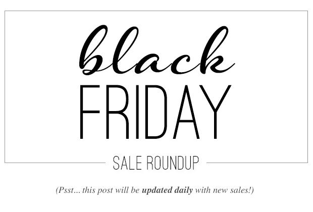BLACK FRIDAY 2014 SALES ROUNDUP