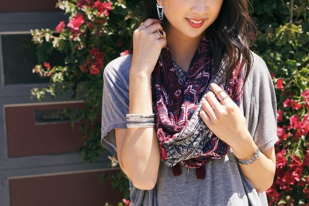 Stella & Dot fall 2016 accessories infinity scarf